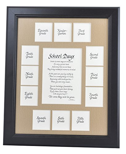 Amazon.com - All Things For Mom School Picture Frame - 11x14 Black ...