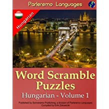 Parleremo Languages Word Scramble Puzzles Hungarian - Volume 1