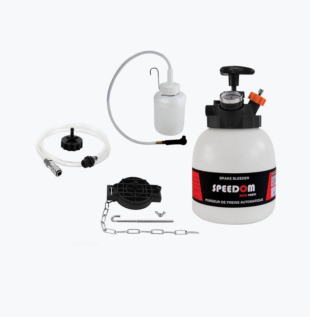 LOT purgeur de frein - d'embrayage (3L) + bouteille de recyclage (1L) SPEEDOM AUTO PARTS KC00173