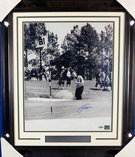 - Jack Nicklaus Autographed Framed 16x20 Photo Steiner