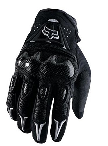 Gloves Fiber Carbon Motorcycle (Fox Head Men's Bomber Glove, Black, Medium(9))