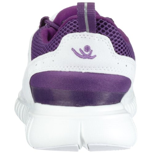 Chung Shi Duflex Trainer Unisex-Erwachsene Sneaker, Weiß (weiss/indigo lila), 35/36  EU, 8800014