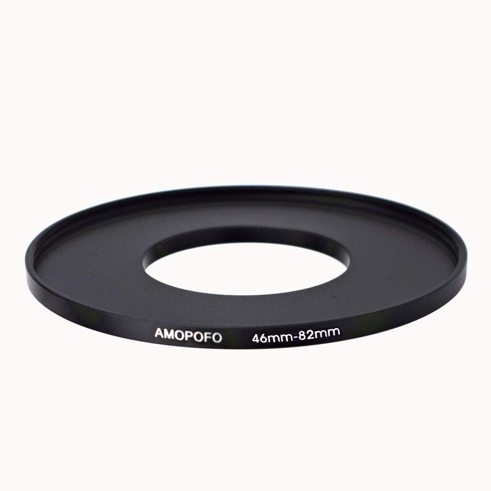 46-82mm /46mm to 82mm Step Up Ring Filter Adapter for UV,ND,CPL,Metal Step Up Ring by AMOPOFO (Image #3)