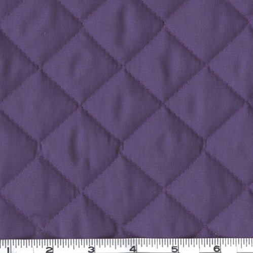 Fabri-Quilt AW-222 Double-Sided Quilted Broadcloth Purple,
