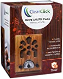 ClearClick Classic Vintage Retro Style AM/FM