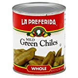 La Preferida Whole Mild Green Chiles, 27 Ounce (Pack of 12)