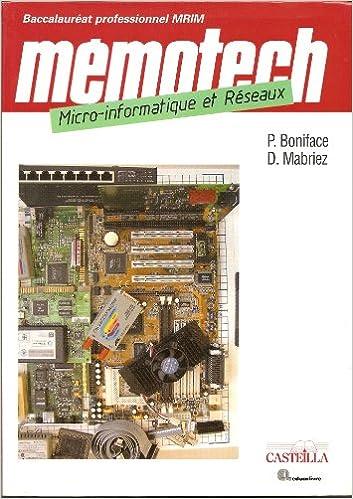 Livres Micro-informatique et réseaux Bac Pro MRIM epub pdf
