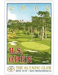 amazon com golf prints posters sports collectibles fine art