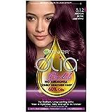 Garnier Olia Bold Ammonia Free Permanent Hair Color (Packaging May Vary), 5.12 Medium Royal Amethyst, Purple Hair Dye, 1 Count