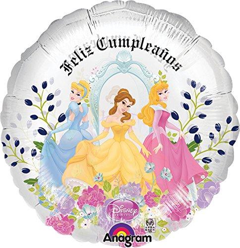 Amazon.com: Anagram International Princess Feliz Cumpleanos ...
