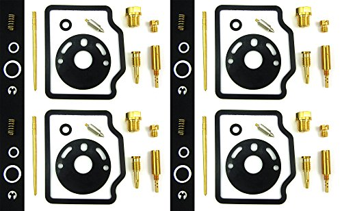 Damineding 4X Carburetor Carb Rebuild Repair Kit 69-76 honda cb750 k1 k2 k3 k4 k5 k6