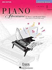 (Faber Piano Adventures ). The 2nd Edition Level 1 Lesson Book introduces all the notes of the grand staff, elementary chord playing, and the concept of tonic and dominant notes. Students play in varied positions, reinforcing reading skills a...