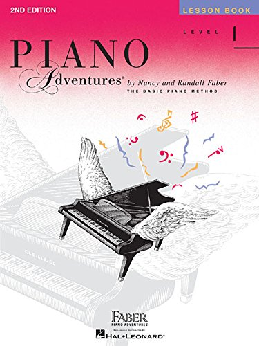 1 Lesson - Level 1 - Lesson Book: Piano Adventures