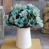 Best Flowers - 6 Branches 10 Head Floral artificial flower Bouquet Review