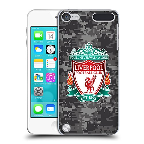 Official Liverpool Football Club Away Colors Crest Digital Camouflage Hard Back Case for iPod Touch 5th Gen / 6th Gen - Ipod Touch 5th Gen Acc