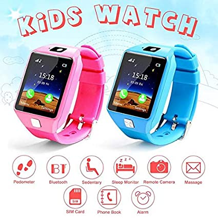 Amazon.com: YIGEYI Enoch Kids Smart Watch Watch Sim Card ...