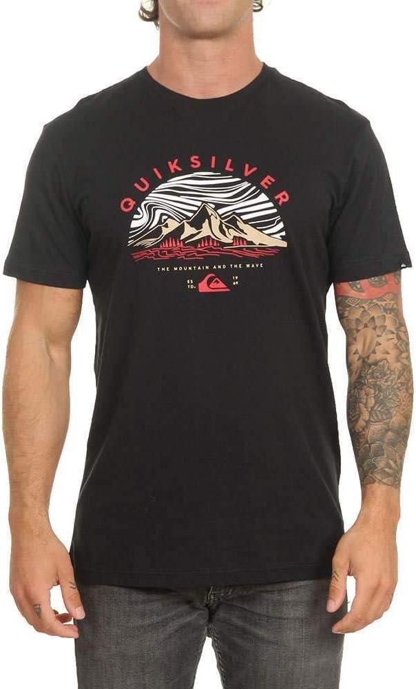 Hombre Quiksilver Dunescape T-Shirt Men Camiseta de Manga Corta