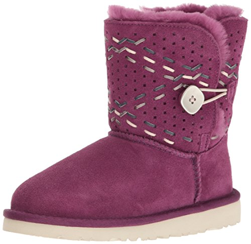 Ugg Kids' K Bailey Button Tehuano Pull-on Boot - Purple P...