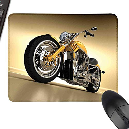 Motorcycle Gaming Mousepad Iron Custom Aesthetic Hobby Motorbike Futuristic Modern Mirrors Riding Theme Keyboard Mouse Pad 35.4