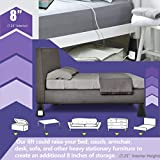 Bee Neat Heavy Duty Bed Risers - 8-INCH Furniture