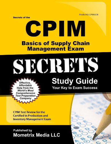 Forum Manual Board - Secrets of the CPIM Basics of Supply Chain Management Exam Study Guide: CPIM Test Review for the Certified in Production and Inventory Management Exam