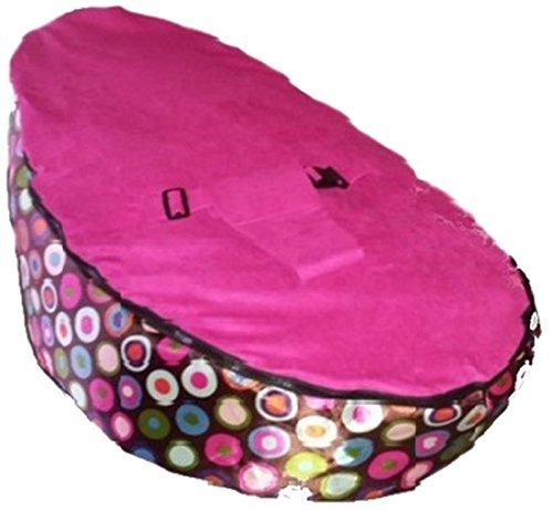 Babybooper Bean Bag Raspberry Booper Drop, Raspberry