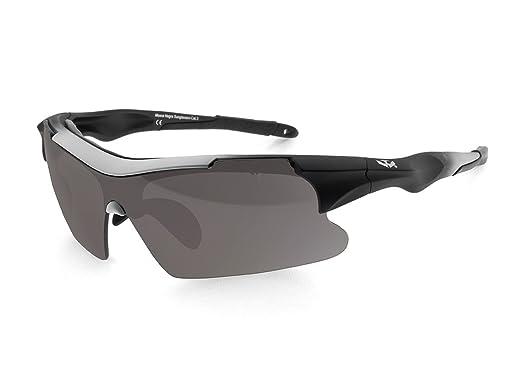 Gafas de Sol para deportes MOSCA NEGRA® modelo PREDATOR 01 ...