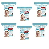 Huggies Baby Wipes Refill Pack (One and Done, pack of 6)
