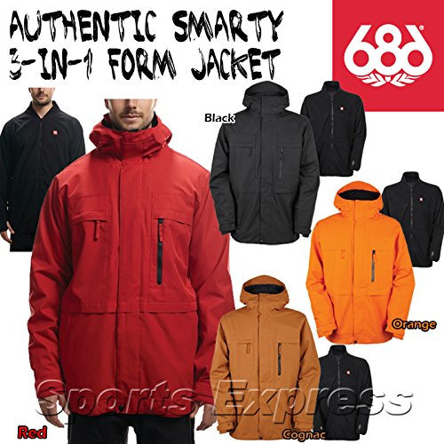 686 Authentic Smarty Form Snow Pants Red X-Large