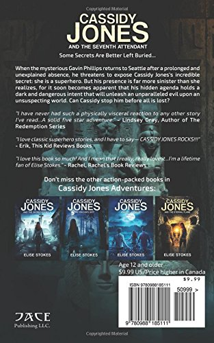 Cassidy Jones And The Seventh Attendant Cassidy Jones Adventures 3 By Elise Stokes