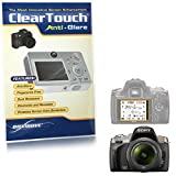 Sony Alpha DSLR-A330 Screen Protector, BoxWave [ClearTouch Anti-Glare] Anti-Fingerprint, Scratch Proof Matte Film Shield for Sony Alpha DSLR -A330