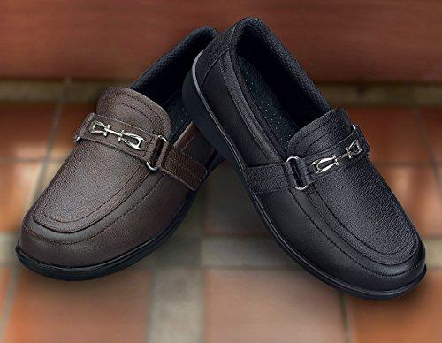 Mocassini Ortopedici Da Donna Comfort Ortopedici Diabetici Da Donna, Slip On Shoes Neri