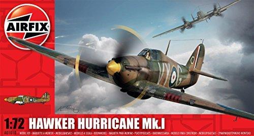 1/72 Hawker Hurricane MkI Plastic -