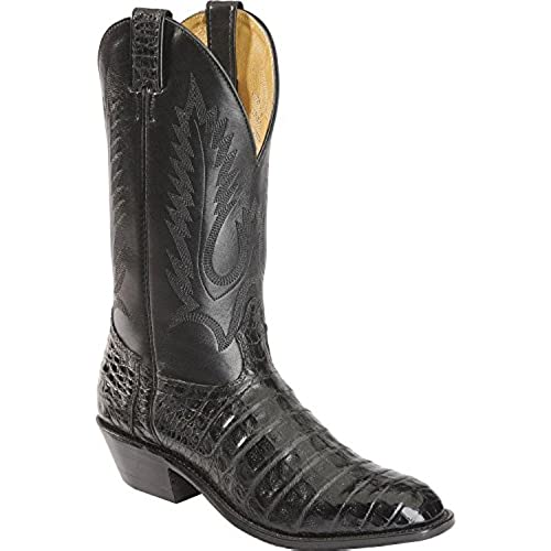 42629d92ae2 Boulet Men's Caiman Belly Cowboy Boot Round Toe - 1510 cheap ...
