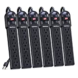 CyberPower CSB604 Essential Surge Protector, 900J/125V, 6 Outlets, 4ft Power Cord
