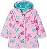Hatley Little Girls' Printed Raincoats, Silly Kitties, 2