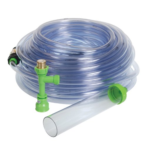 Python No Spill Clean and Fill Aquarium Maintenance System, 100-Feet