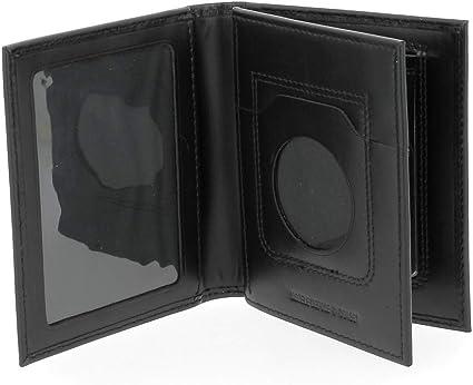 GK Pro Porte-carte 3 volets 4261 - Noir