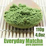 Everyday Matcha Green Tea Powder - ORGANIC - Superior Daily Antioxidant Content - All Day Energy - Improved Health - Lattes - Smoothie