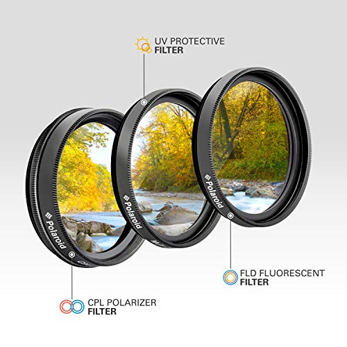 UV, Fluorescent, Polarizer PLR Optics 46MM High Resolution 3-Piece Filter Set