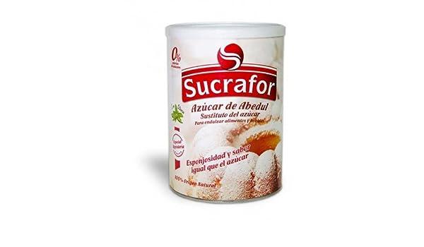 ijsalut - azucar abedul bote sucrafor 750 gr: Amazon.es: Salud y cuidado personal