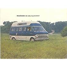 1969 Motorhomes INC Minihome Van Camper Ford Brochure