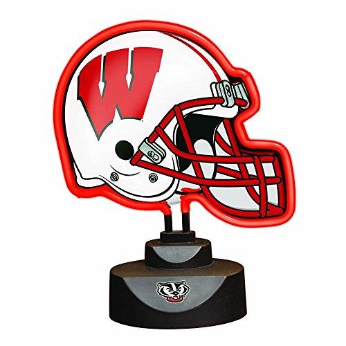 NCAA University of Wisconsin Neon Helmet (University Neon Lamp)