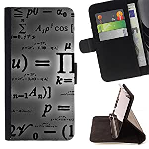 For Samsung Galaxy S6 active/G870A/G890A (Not Fit S6) Pi Mathematics Formula Calculation Letters Style PU Leather Case Wallet Flip Stand Flap Closure Cover