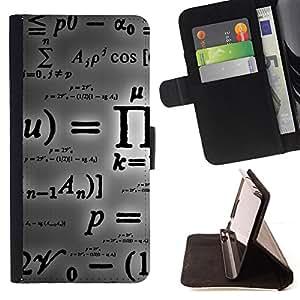 Jordan Colourful Shop - pi mathematics formula calculation letters For Sony Xperia m55w Z3 Compact Mini - < Leather Case Absorci????n cubierta de la caja de alto impacto > -