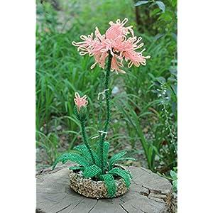 "Beaded Flower ""Japanese Iris"" 29"