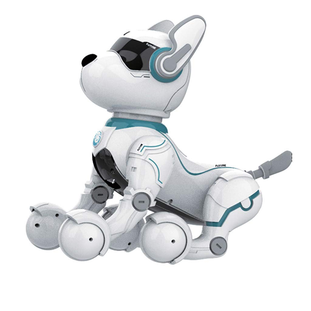1KTon Voice Control Speech Leidy Dog Animal Robot Toys Robotic Dog Puggy Toys by 1KTon