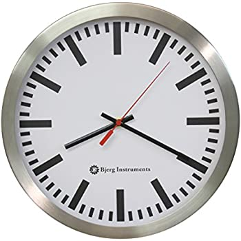 Amazon Com Mondaine A990 Clock 16sbb Wall Clock White