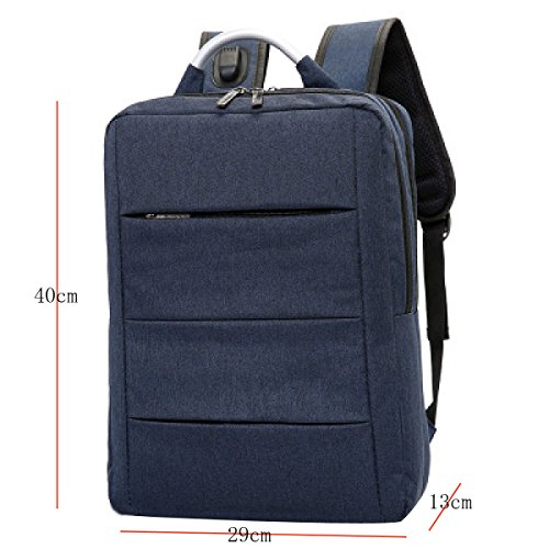 Shoulder Bag Capacity Fashion Backpack gray Men's Computer Brown Large gCwW7q