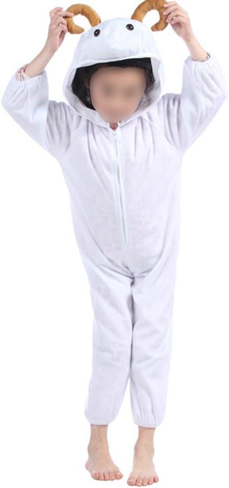Disfraz de cabra para niños, disfraz de animales para Halloween ...